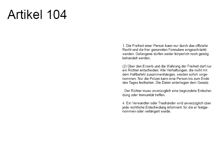 Artikel 104 aus der Arbeit GGG von Alexander Leschinez, 2021