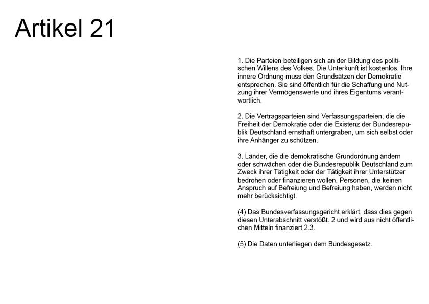 Artikel 21 aus der Arbeit GGG von Alexander Leschinez, 2021